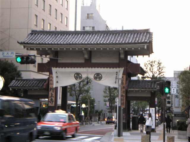芝大門、増上寺
