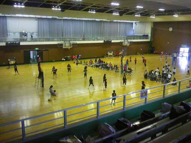 小学生女子のバレーボール大会