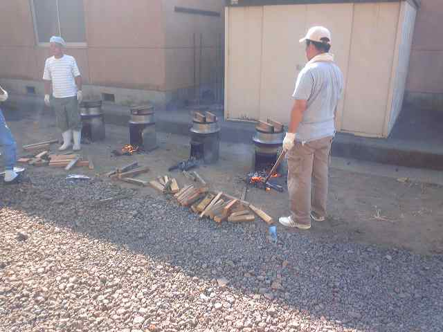 2009年、防災訓練