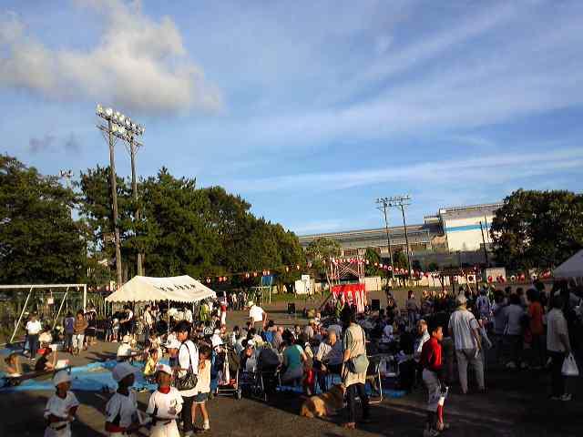 2010、町内会の納涼祭