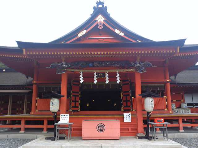 富士宮、浅間神社
