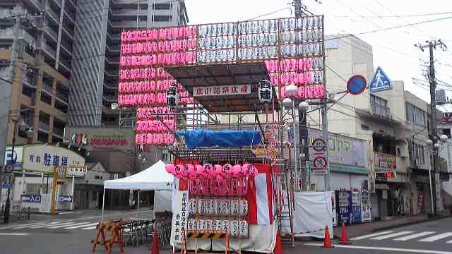 2010年、三嶋大社祭典です