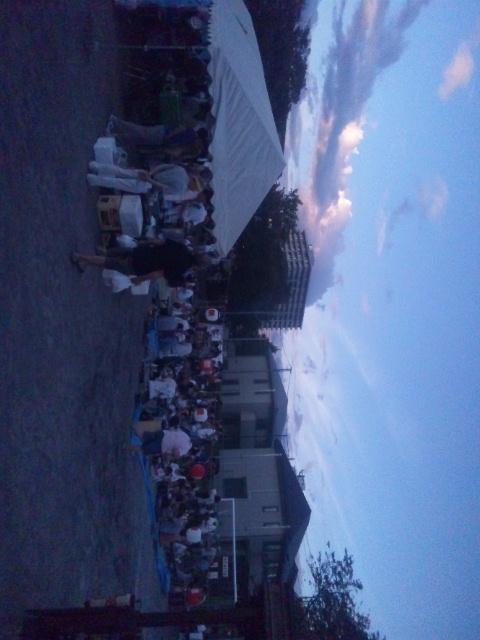 2012、町内会納涼祭